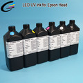 C, M, Y, K, Clear + Clear Roland LEJ-640 LED UV Curable Ink