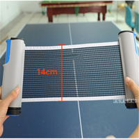 b6902744e 10PC Competition PingPong Ball Net Fix Equipment Practical Table Tennis Set  Accessories Table Tennis Grid Table