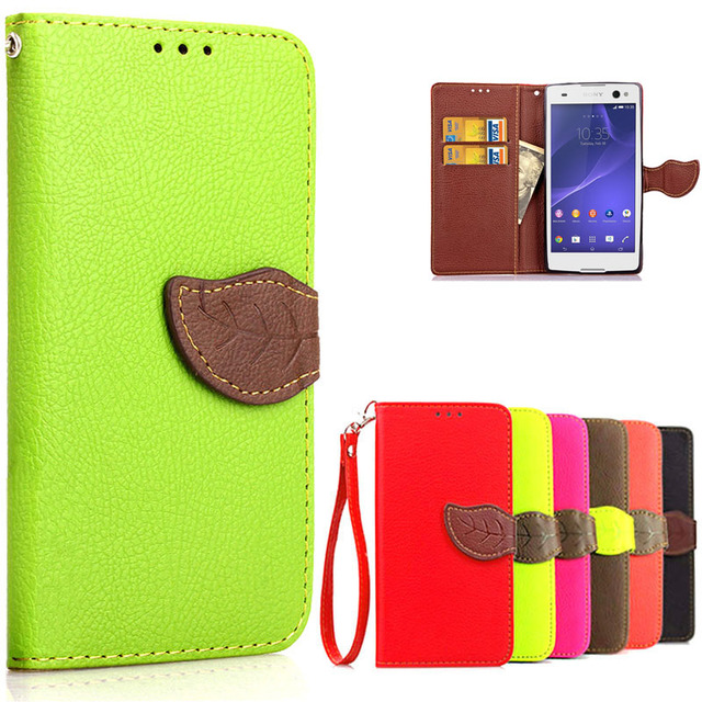 new products 001de 84727 US $4.69 |Luxury Wallet Flip Leather Case For Sony Xperia C3 D2533 Dual  D2502 Phone Back Cover With Card Holder Case For Sony C3 C 3-in Wallet  Cases ...