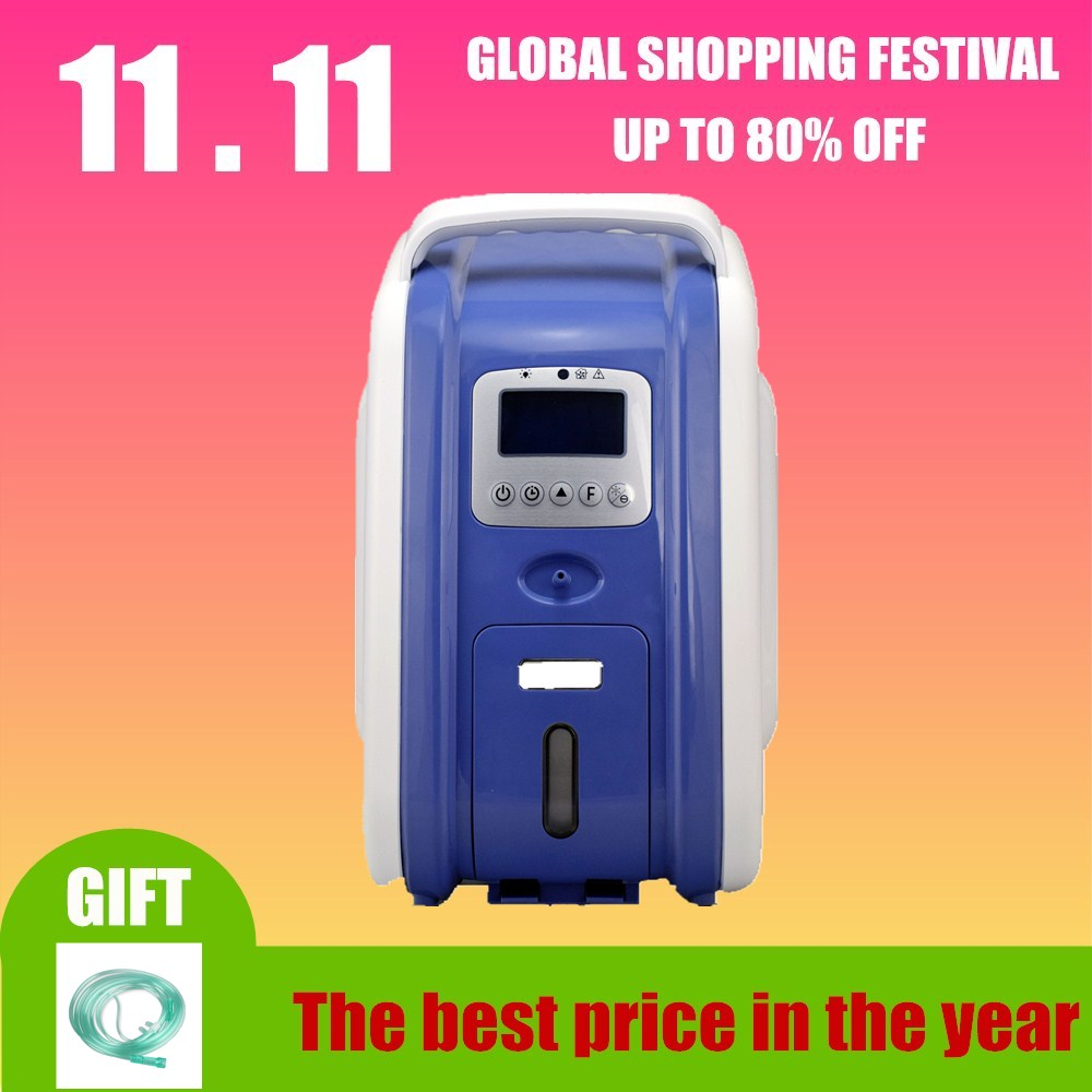 9L medical used Portable Oxygen Concentrator Generator large oxygen outflow 30%-93% oxygen purity oxygen tank atomizing 9l large flow home use mini medical portable oxygen concentrator generator with atomizing function xy 1sm