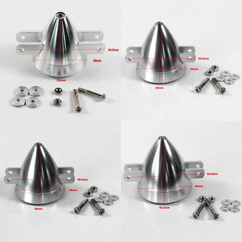 CNC En Alliage D'aluminium Spinner Pour Hélice Repliable D30 D35 D40 D45 Approprié pour 2/3/4mm moteur arbre RC Avion