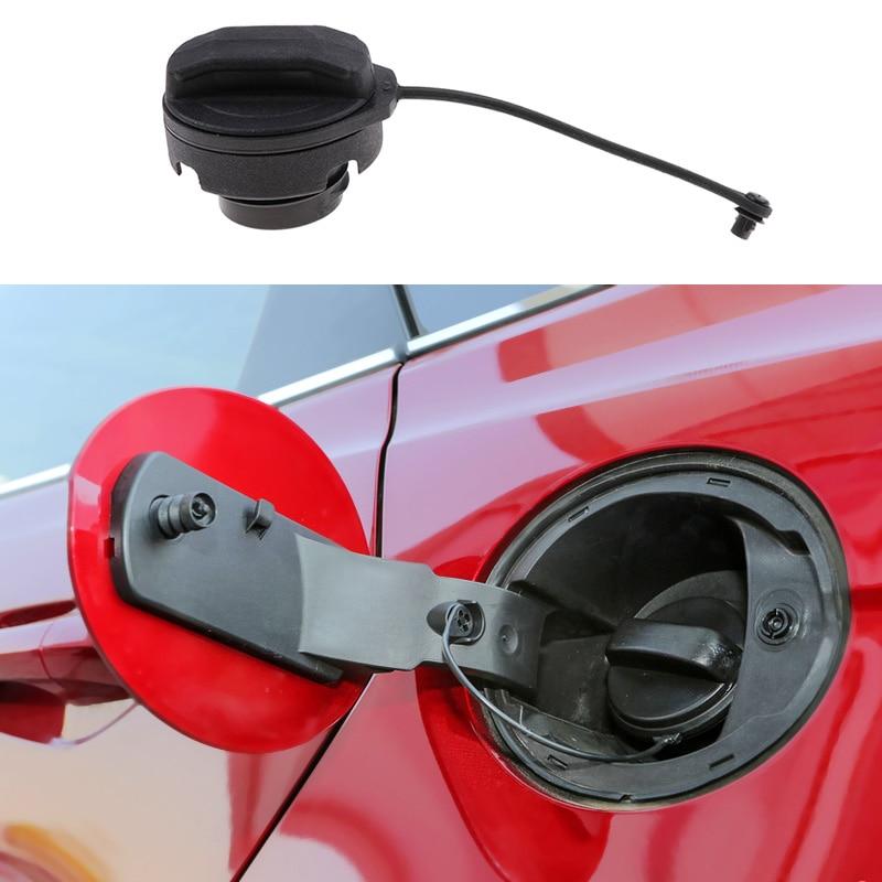 1 Pcs Universal Auto Car Fuel Filler Tank Cover Cap For VW Bora Golf 4 MK4 Passat B5 Repalce 1J0201553 Car Gas Cap Accessories