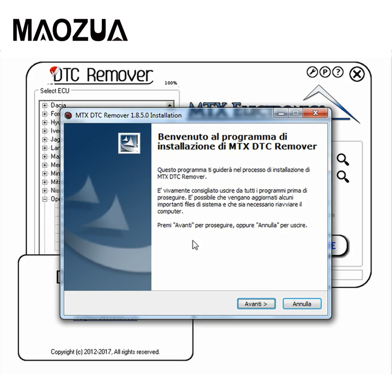 MTX DTC Remover 1.8.5.0 With Keygen & DPF EGR Remover 3.0 Lambda Remover Full  Version Software + Unlock Keygen