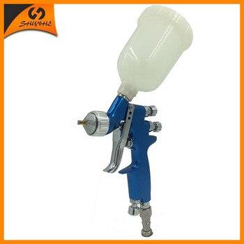 цена на SAT1139 mini hvlp paint guns automotive mini spray gun sprayer air brush air painting gun hvlp spray air compressor sprayer