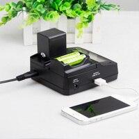 LVSUN Universal Phone AA Camera Car AC EN EL22 ENEL22 EL2 Charger Power Adapter For Nikon