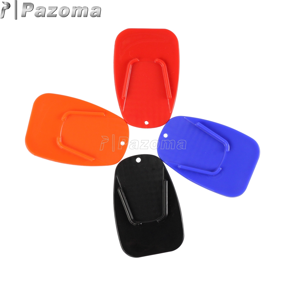 Dirt Bike Motorcycle Universal Plastic Kickstand Side Stand Plate Pad Base for Yamaha Honda Harley Suzuki Black Red Blue Orange-in Stands from Automobiles ...  sc 1 st  AliExpress.com & Dirt Bike Motorcycle Universal Plastic Kickstand Side Stand Plate ...