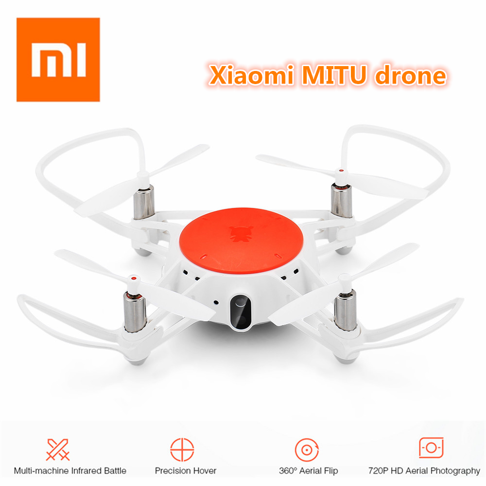 Original Xiaomi MITU RC Drone With WiFi FPV 720P HD Camera Multi-Machine Infrared Battle Mini RC Drone Quadcopter- BNF Version