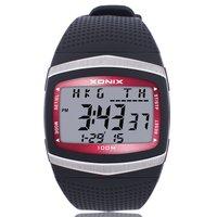 XONIX Précis Temps Watchs Classique Monde Multi-Sport Étanche Lumineux LED Électronique Mouvement Mâle Forme GF