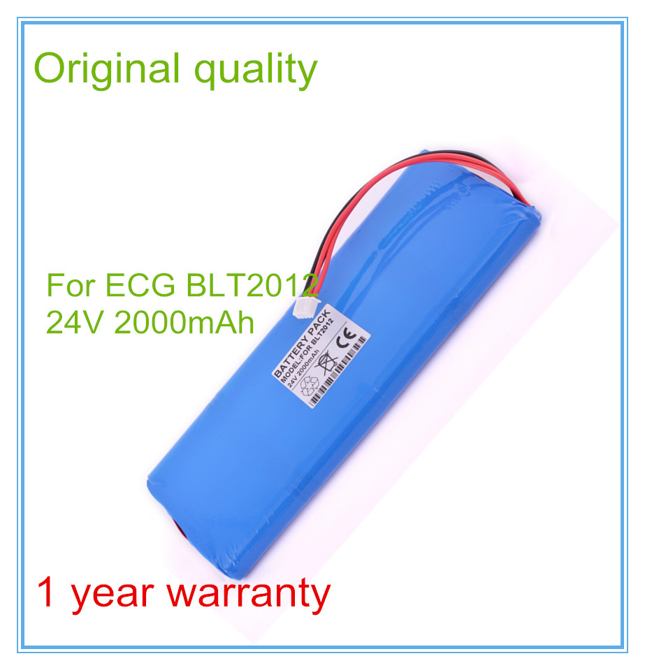 Biomedical Medical Battery Replacement For Twelve lead ECG Battery BLT2012 High Quality Medical equipment batteries replacement for ecg machines fx 7402 8 hry 4 3afd ekg machines biomedical medical battery