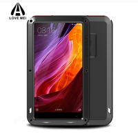 Love Mei For Xiaomi MIX Cover Case Full Body Protection Metal Shockproof Life Waterproof Aluminum Covers