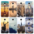 Beautiful Scenery Pattern Soft TPU Phone Cases for Meizu M2 M3 Note M3 S mini M3S Mini Back Cover Case Painting Protective Shell