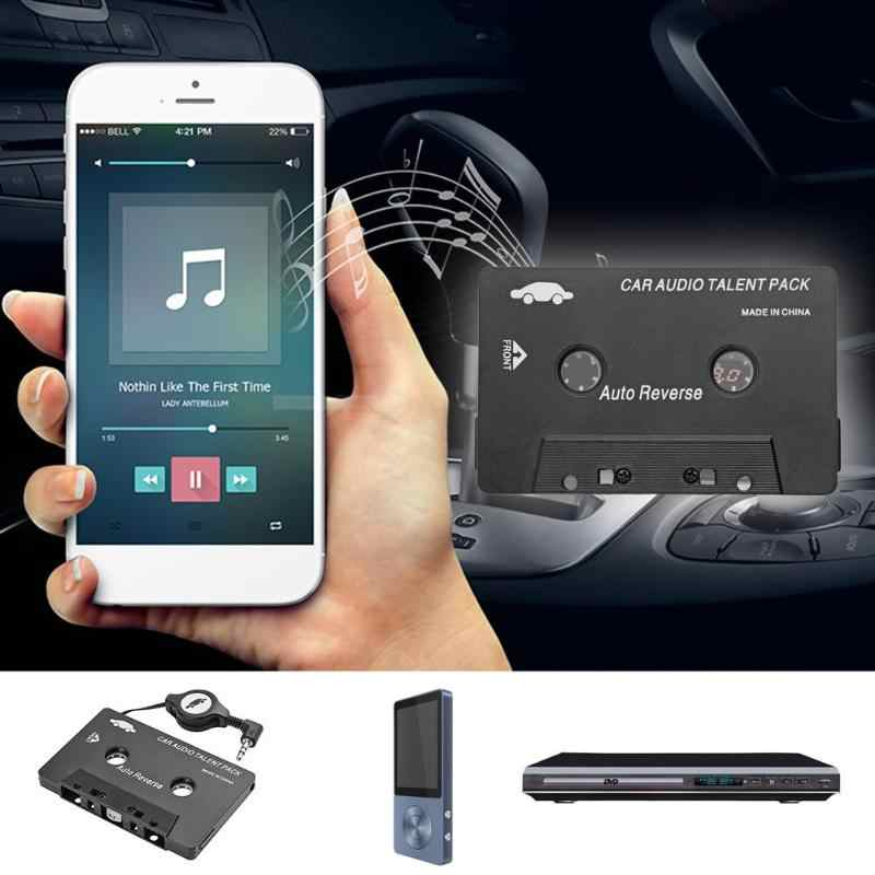 Vodool Universele Auto Cassette Audio Adapter Converter 3.5 Mm Aux Auto Stereo Adapter Voor Iphone Ipod MP3 Cd Palyer hot Koop
