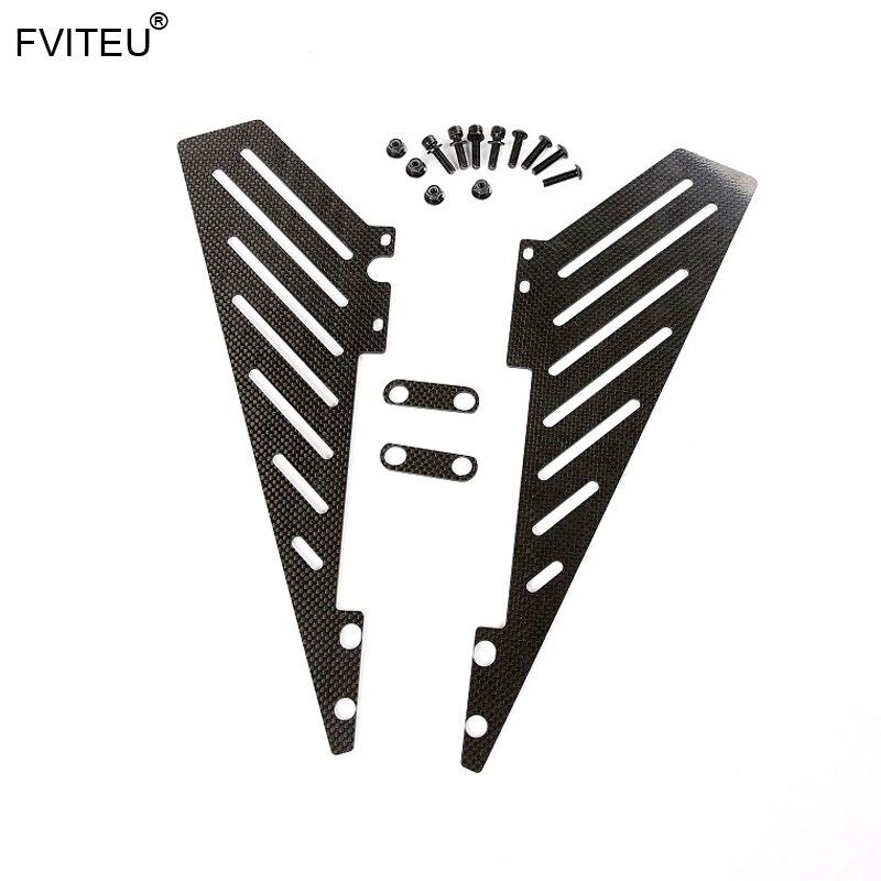 FVITEU carbon fiber side rail side board set For 1 5 Hpi baja 5b ss rovan