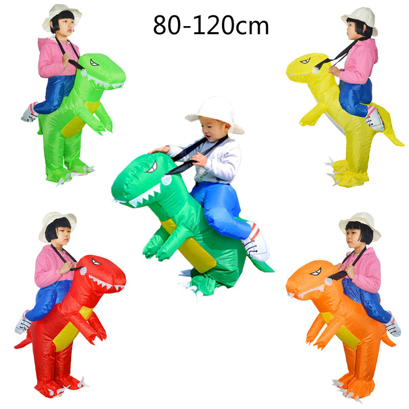 Inflatable Dinosaur Costumes Elk Unicorn Horse Toys for Kids Girls Boys Adults Halloween Cosplay Costume For Kids Animal Costume christmas costumes children animal cosplay rompers inflatable funny chick fancy kids baby 7 24m halloween costume disfraces