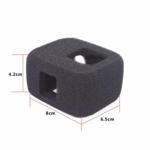 Image 2 - ORBMART Sponge Foam Cover Case Wind Noise Reduction Windshield Enhanced Audio Capture For Gopro Hero 5 6 7 8 Black Sport Camera