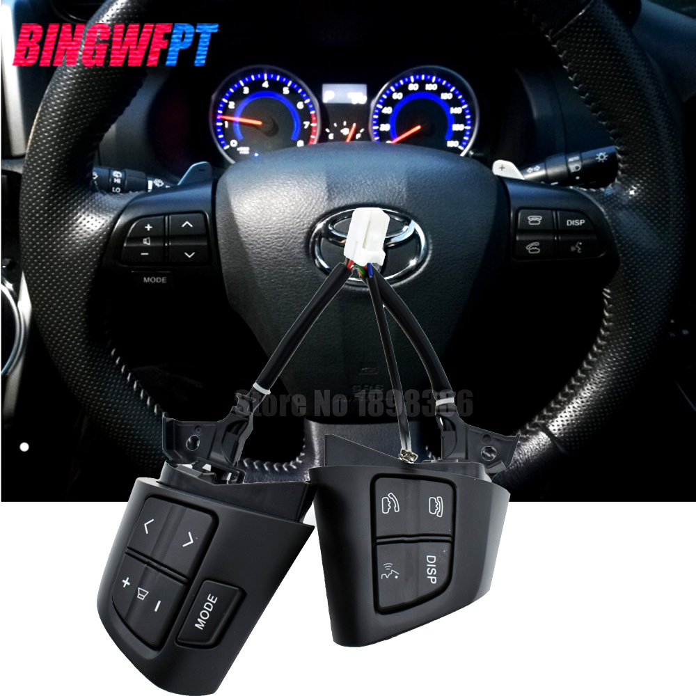 Black color Button Switch 8425002230 For TOYOTA COROLLA ADE150 NDE150 NRE150 ZRE15* ZZE150 2010-2013 84250-02230 top quality steering wheel control button switch for toyota corolla ade150 nde150 nre150 zze150 2007 2013 84250 02230 8425002230