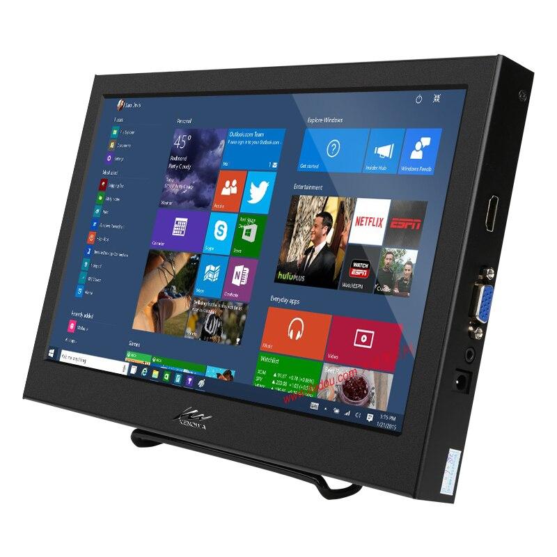 """10,1 """"1280x800 Hd Lcd Display Bildschirm Gebaut In Lautsprecher Für Raspberry Pi 3 Modell B + 3b 2b B + Mit Mit Vga/hdmi Interface Jahre Lang StöRungsfreien Service GewäHrleisten"""