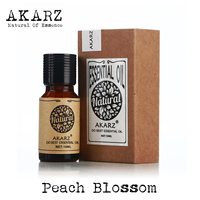 Peach Blossom эфирное масло AKARZ натуральный жирность Косметика свеча мыло ароматы Создание DIY одоранта сырья персик Blossomoil