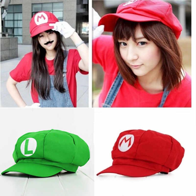 Nouveau Super Mario bros. Casquette octogonale Mary & Sunbonnet chapeau adulte prix de gros Cosplay