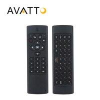 [Avatto] K16 العبرية/الإنجليزية ir التعلم 2.4 جرام اللاسلكية البسيطة 10-20 متر التحكم عن ل سمارت tv ، pc ، ps3 ، pad ، الروبوت مربع