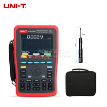DHL Free Shipping UNI-T UTD1202C 2 Channel 200MHz 1GS/s Handheld Digital Storage Oscilloscope Oscillograph(China)