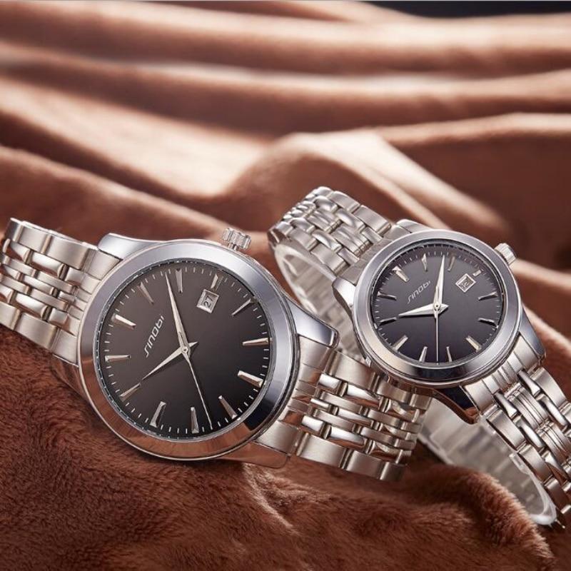 SINOBI Top Brand Lovers' Watch Fashion Men's Watch Luxury Full Steel Women's Watches Clock Unisex saat reloj hombre reloj mujer 2015 reloj mujer xr527