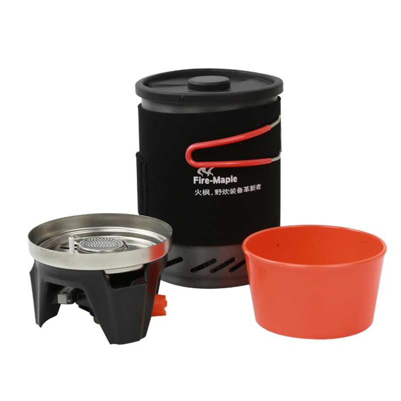FMS 1 0L newest mini liquid fuel camping gasoline stoves and portable outdoor kerosene stove burners