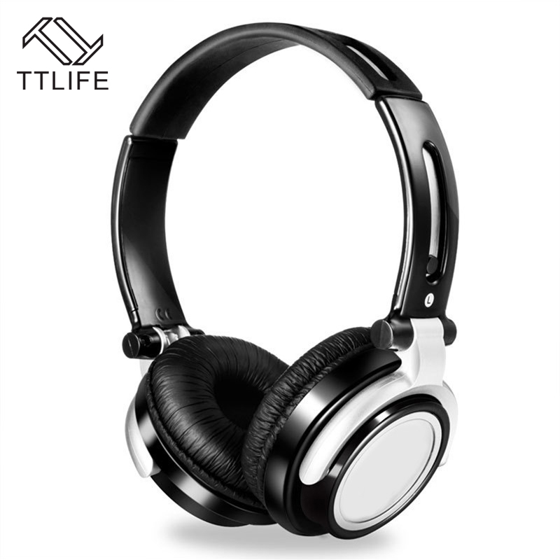 TTLIFE Wired Gaming Headset Foldable HiFi Gamer Headphone Volume Control Fone De Ouvido with Microphone for Phones Android PC