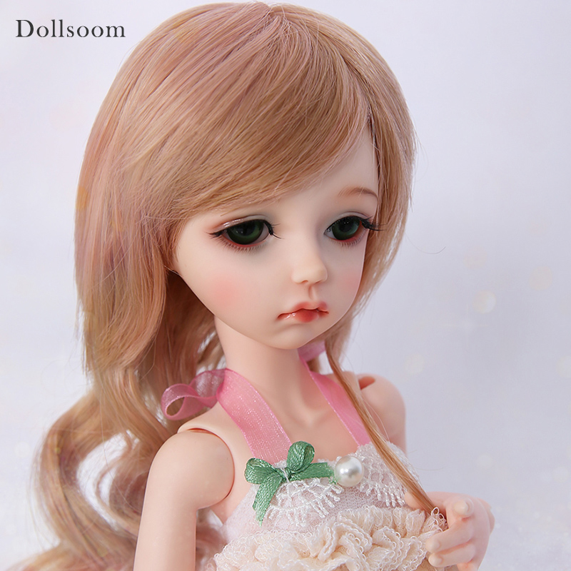 Manon imda 4 3 Sleeping Or Open Eyes Head BJD SD Dolls 1 4 Resin Body