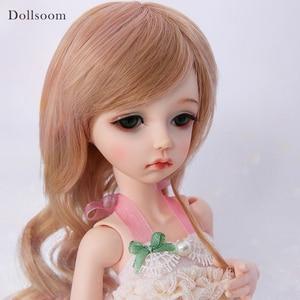 Image 1 - Manon aimd 4.3 睡眠やオープン目ヘッド BJD SD 人形 1/4 樹脂ボディモデルガールズボーイズ目高品質おもちゃ