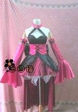 Vocaloid Alice in mukicland Megurine Luka Anime Custom Made font b Dress b font High Quality