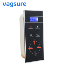 CE Certified AC 12V Black LCD Display Screen Shower Room Radio Controller Panel For Shower Room Enclosure Cabinet Control square silver shower room control panel shower cabin control
