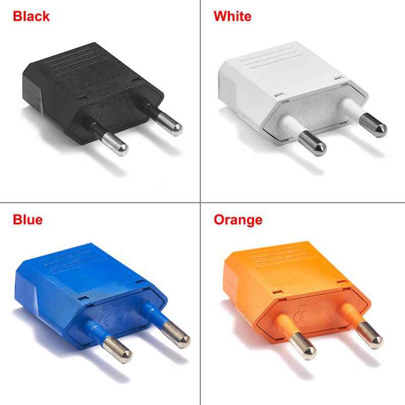 EU European Travel Adapter Amerikaanse Japan CN ONS Plug Adapter EU Stekker Netsnoer Charger Sockets AC Converter outlet