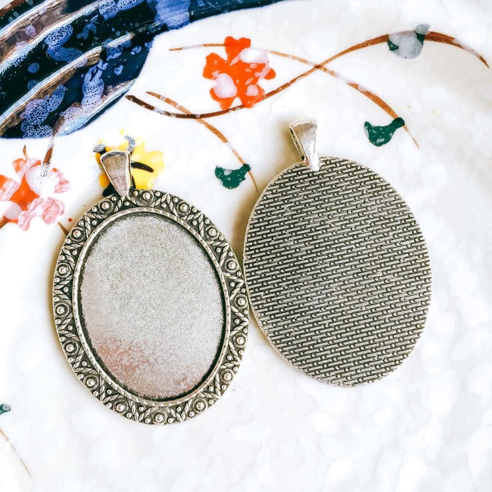Orteils dans la Sane Photo dôme en verre Tibet Argent Chaîne Collier Pendentif en gros