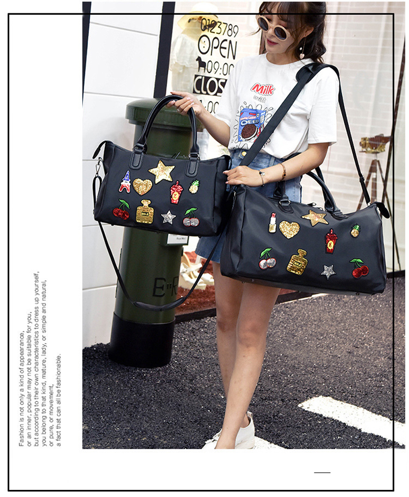 Travel Duffels Cute Marine Girls Duffle Bag Luggage Sports Gym for Women /& Men