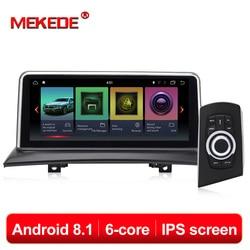 ID7 10.25 ''Android 8.1 di Navigazione Per Auto Lettore DVD dell'automobile sistema Intelligente Per BMW X3 E83 (2004-2009) con iDrive Car Audio GPS Per Auto