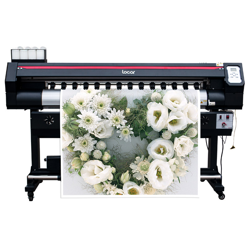 Industrial Digital Priting Machine With Double Head Xp600 High Resolution Billboard Printer Inkjet Wide Format Plotter