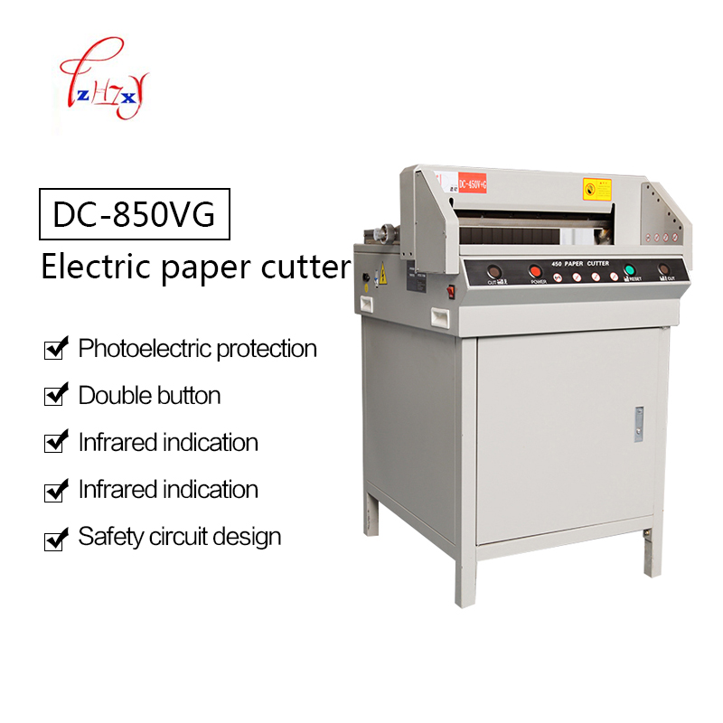 Heavy Duty Electric paper cutter 450mm digital automatic Cutter paper Paper Cutting Machine Paper Trimmer 1pc цена 2017