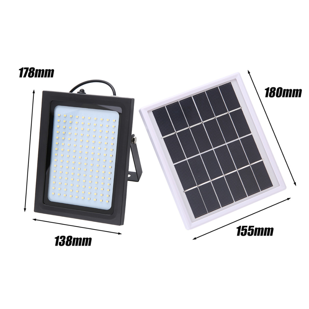 150 LED Solar Power FloodLight Sensor Motion  Lights Solar Lamp Light Emergency Flood Lights for Outdoor Security Garden Path