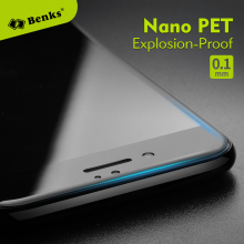 Benks 3D Nano PET Explosion-proof Screen Protector for iPhone 7/ 7plus Anti-Blue Unbreakable No white edge