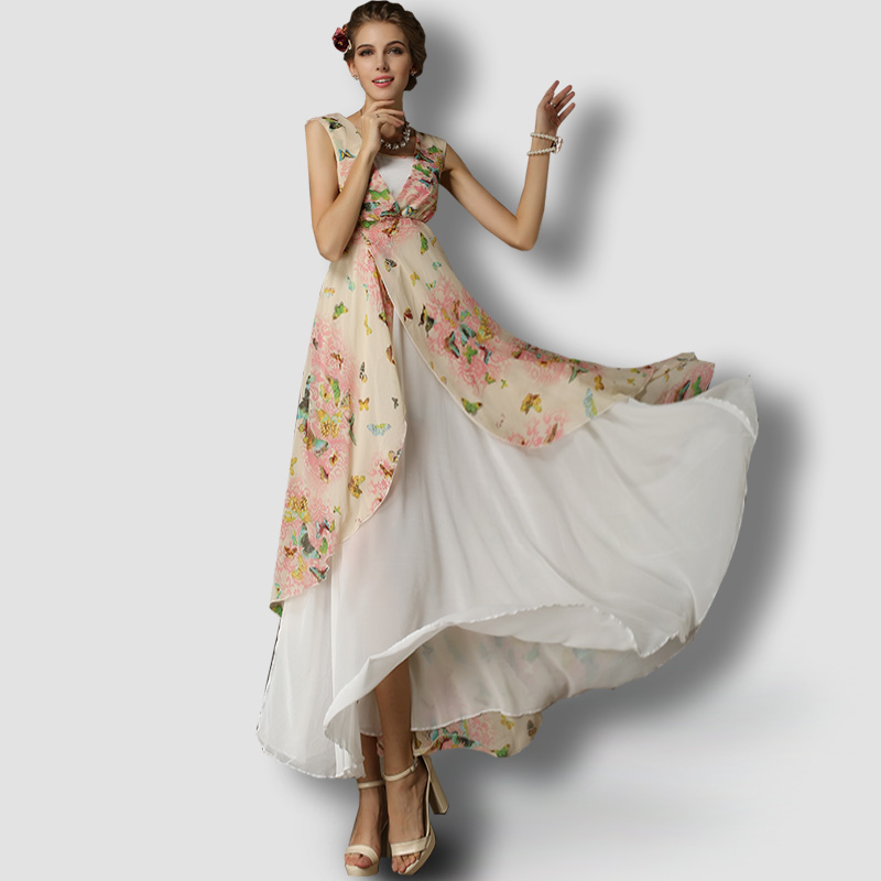 Online Get Cheap Butterfly Dress Chiffon -Aliexpress.com | Alibaba ...