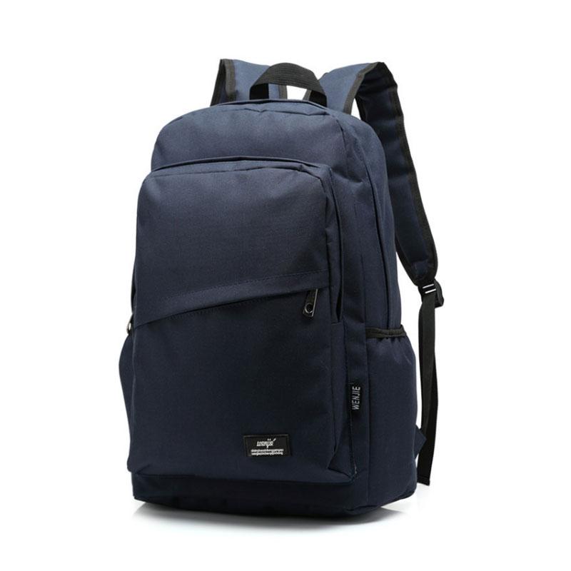 Unisex Fashion Canvas Backpack Teenagers Schoolbag Back Pack Men's Knapsack Laptop Travel Bags Student Leisure Shoulder Bag