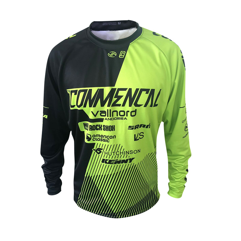 Surrender Rate Long Sleeved Watchdog Commencal Mountain Bike Riding Jacket Summer Cycling Jerseys ShirtSurrender Rate Long Sleeved Watchdog Commencal Mountain Bike Riding Jacket Summer Cycling Jerseys Shirt
