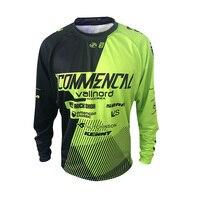 Surrender Rate Long Sleeved Watchdog Commencal Mountain Bike Riding Jacket Summer Cycling Jerseys Shirt