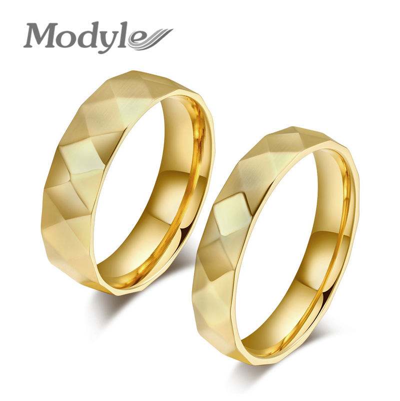 fashion couple rings korean couple wedding rings jewelry gold rings for men and womenchina - Wedding Ring Price