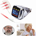 18 lasers Low Level Laser Therapy 650nm Wrist watch Semiconductor Diabetes  laser therapy apparatus