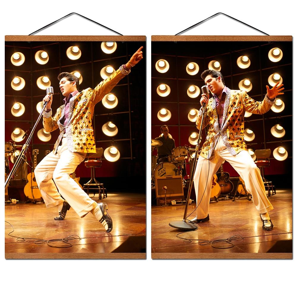Art Print POSTER Elvis Presley Performing