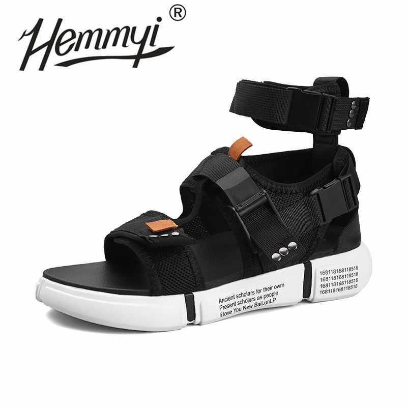 Hemmyi Mens Gladiator Sandals Summer
