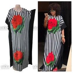2017 neue Mode Super Size Afrikanischen Lose Lange Dashiki Traditionellen Kleid Für Dame (CPDH #)