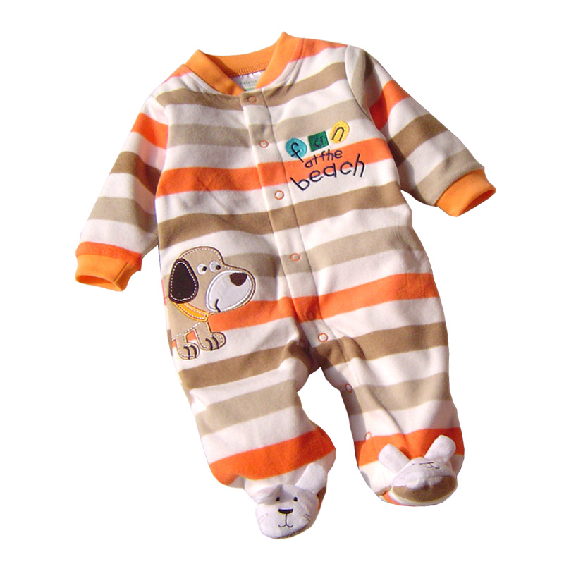 Baby Romper Fleece 2018 Baby Clothing Long Sleeve Winter Newborn Baby Clothes Boy Girls Rompers Cartoon Jumpsuit Baby Costumes cartoon baby rompers costumes fleece newborn baby girl boy clothes winter overalls roupa bebes animal next clothing warm clothes